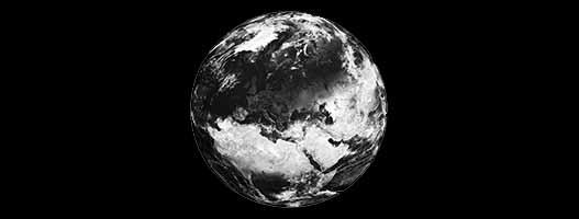 stickers la planete terre avec des nuages l 39 europe une partie de l 39 afrique et de l 39 asie.jpg